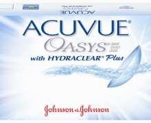 Φακοί σιλικόνης Johnson & Johnson Acuvue Oasys